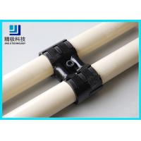 China Adjustable Swivel Metal Pipe Joints For Rotating In Pipe Rack System Black Fitting HJ-8 wholesale