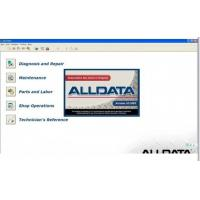 Quality Alldata V10.52 Automotive Diagnostic Software for sale