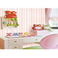 China Pvc Vinyl Kids Bedroom Wallpaper Washable Soundproof With Foaming Tech wholesale