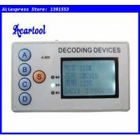 Buy cheap Acartool 315MHZ/330MHZ/430MHZ/433MHZ car remote code scanner decoder 4 in 1 from wholesalers