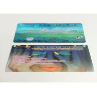 China 0.6MM PET Flip Effect 3D Lenticular Business Cards UV CMYK Printing wholesale