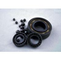 Quality Si3N4 Full Ceramic Bearings , Cage Was Made By PTFE , GFRPA66-25 , PEEK , PI , for sale