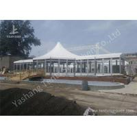 China Custom Outdoor Tents For Events , Event Canopy Tent A Frame Combined With High Peak Shape wholesale