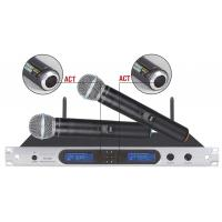 China excellent quality 8009 wireless microphone system 200 channels selectable rack mount wholesale