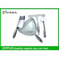 China Multi Purpose Household Cleaning Brushes And Dustpan Set PP Material HB1635 wholesale