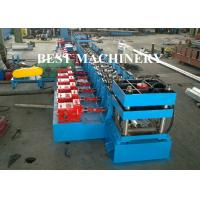 China Highway Guardrail Roll Forming Machine Hydrualic Punching Cutting wholesale