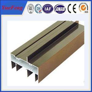 China Hot! Quality hollow section aluminum sliding window/ aluminum window frame profiles wholesale