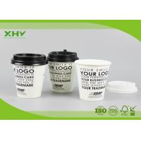 China Disposable 10oz 350ml 90mm Top Printed Single Wall Paper Cups for Coffee or Hot Drink with Lids wholesale