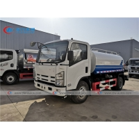 China ISUZU Carbon Steel Stainless Steel 304 5000L Water Bowser Truck wholesale