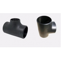 China Carbon Steel ASME B16.9 Pipe Fitting Seamless Straight/Reducing Tee SCH40 DN50 ASTM A234 WPB Butt Weld/carbon steel pipe wholesale