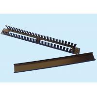 China horizontal Metal cable manager for racks with cover wholesale
