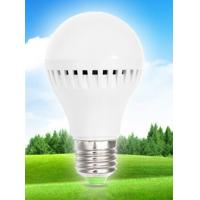 China 9W LED Plastic E27 Bulb Light with SMD2835 chip Epistar glass bulb dimmable wholesale