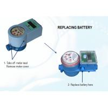 China Smart IC Card Prepaid Water Meter with Software , Digital Household Water Meter wholesale
