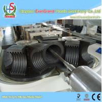 China PP / PE / PVC Double Wall Corrugated Pipe Machine with Single Screw Extruder on sale