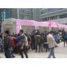 China Arc Shape Outdoor Commercial Event Tent Transparent PVC Windows UV Resistant wholesale