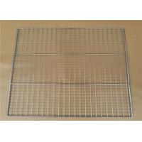 China Welded Type Wire Basket Cable Tray For Put Something , 10-15mm Hole Size wholesale