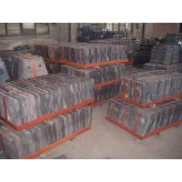 China Cr-Mo Steel Liners for Coal Mills Hardness More than HRC48  Applied in Grinding Feldspar wholesale