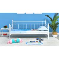 China Customized Color Szie Princess Iron Bed  , Single Beds For Adults 60X40X80 CM wholesale