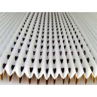 Quality Painting Filter Paper Folded Dry Type Air Filter Material For Spray Booth for sale