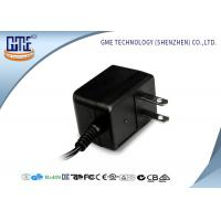 China Black CE/GS EU Plug 3-10w Ac Dc Switching Power Supply With 1.5m DC Cable wholesale