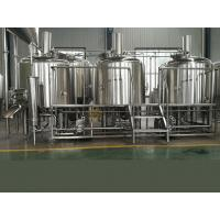 China Turn Key 1000l Micro Beer Brewing Equipment Steam Heating Ce Iso Approval wholesale