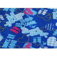 China Pvc / Pu Coated Blue Polyester Fabric Waterproof For Raincoat wholesale