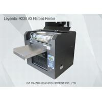 China Multi Functional Mini Flatbed UV Printing Machine Small Format For Metal Printing wholesale