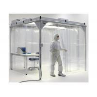 China Cleanroom Project Softwall Modular Cleanrooms For Biological Engineering wholesale