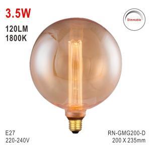 Buy cheap G200 Bulb, Decorative Light, E27 LED Bulb, Fashionable Glass Bulb, Energy Saving from wholesalers