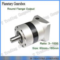 China 90mm planetary gear boxes with 28:1 gear ratio for servo motors on sale