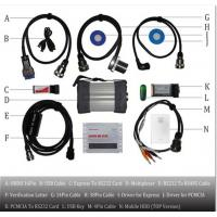 Quality Heavy duty Truck Diagnostic Tool / Mercedes Benz Truck Diagnostic Scanner With for sale