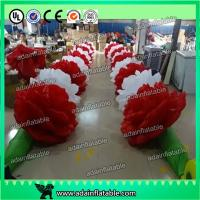China 10m Inflatable Rose Flower Chain For Valentine's Day Event Party Decoration Ada Inflatable wholesale