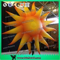 China 2m Color Changing Led Inflatable Lighting Balloon Concert Decoration Inflatable Sun wholesale