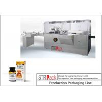 China Stable Performance Bottle Packing Machine / Automatic High Speed Cartoning Machine wholesale