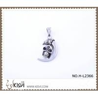 China Hot sell 316 Stainless Steel Death's-Head Pendant H-L2366 wholesale