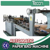China Automatic Energy Saving Paper Bag Making Machine with Flexo Printing wholesale