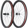 China T800 DH AM 40 * 30 Carbon Fiber Mountain Bike Wheels 29er 15 * 100mm rear 12 * 142 wholesale