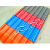 China New plastic PVC colonial roofing tile roofing sheet wholesale