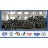 China 15kv Power Transmission Electrical Galvanized Steel Tubular Pole Long - Life wholesale