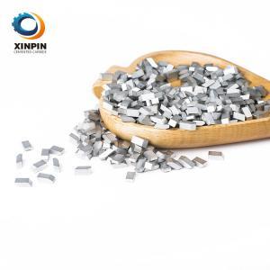 China Tungsten Carbide Saw Brazed Tips Saw Blade Teeth YG6 YG8 YG11 K10 K20 K30 For Wood Metal  aluminium Cutting on sale