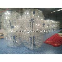 China Rent Big Inflatable Human Bubble Ball Soccer , Indoor Body Zorbing Ball wholesale