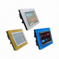 China Touch Dimmer Switch for Incandescent Lamp, with Acrylic Colorful Frame and LCD Display wholesale