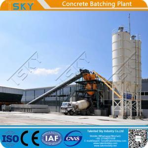 China Pipe Piles Bridge Precast 3.8m Concrete Mixing Plant wholesale