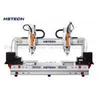 China Auto Screw Fastening Machine Double Screw Feeder 6 Axis Suction Type 0.02mm Accuracy wholesale