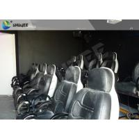 China Electric System 5D Movie Theater With Motion Ride Special Effect Bubble / Rain / Snow wholesale