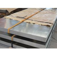 China HDGI Galvanized Metal Sheets , Thick 0.2 - 2.0mm Zinc Coated Steel Sheet wholesale