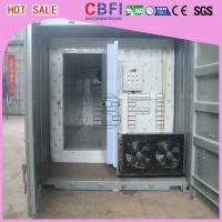 China Quick Freezing Customized Container Cold Room 20 Ft Or 40 Ft Optional  wholesale