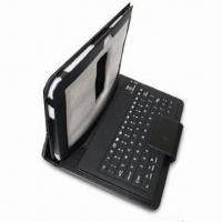China Bluetooth Keyboard with Leather Bag, Supports Samsung 7500/7510, Available in Various Colors wholesale