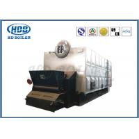 China Chain Grate Stoker Biomass Hot Water Boiler Wood Fired High Efficiency wholesale