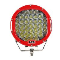 China 9 inch Led work light with 111Watt , 37pcs*3w high intensity CREE LEDS, Black, Red, Bule, Yellow Body color for choose wholesale